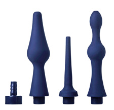 Unique Siliocne Enema Nozzle Set