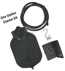 One Gallon Enema Kit from CleanStream