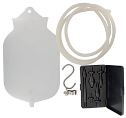 One Gallon Silicone Enema Bag Complete Kit