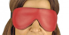 Red Leather Blindfold demo