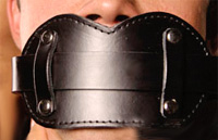 Leather Ball Gag on