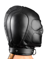 Side View of the Intense Padded Hood
