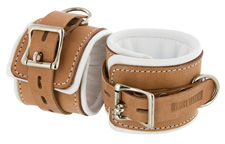 Instiutional Style Cuffs by Strict  Leather