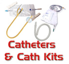 Catheters and Catheter Insertion Kits, Insertables for Anal Cleansing and PLeasure