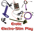 Erotic Electro-Stim, Electrodes, Power Box, TENS