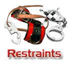 Steel Restraints, Handcuffs, Leg Irons, Thumb Cuffs, etc.