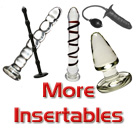 Glass Insertable Toys, Inflatable Insertables and More...