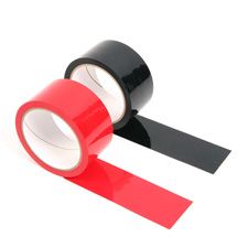 Black and Red Bondage Tape