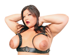 Kelly Shibari  in the Bondage Bra