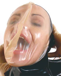Latex Breather Hood