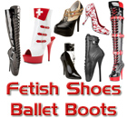 Ballet Boots and Shoes and Fetish Shoes and Boots