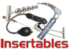 Insertables, Prostate Stimulators, Ano-Scopes, Probes, Stainless Steel