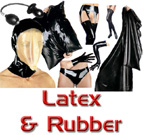 Latex and Rubber Sheets, Apparel, Hoods...