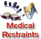 Medical and Institutional Restraints, Cuffs, Wraps, Braces