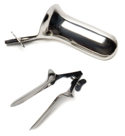 Collin Speculum shown opened and closed