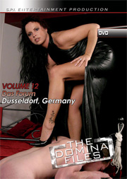 Domina Files no-12 cover front DVD