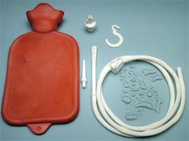 2 quart enema bag set
