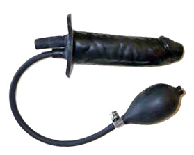 Inflatable Dildo Enema Nozzle
