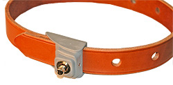 Locking Institutional Leather Belts