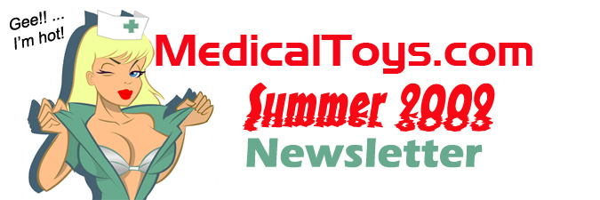 MedicalToys.com Newsletter Summer 2009 Header