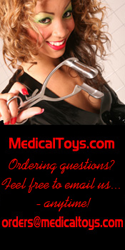 Anal Play Toys Page and Contact Info Banner