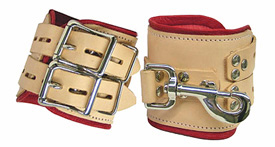Medical Bondage Leather Restraints Ankles