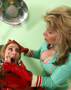 Nurse Laural and Natali Whitehead Gag