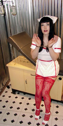 Hand cuffed Nurse Valentine pleads her case!
