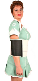 Nurse Mona in the Upper Torso Wrap