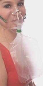 Lucky Lisa medical oxygen mask fetish she's hot fuck!!