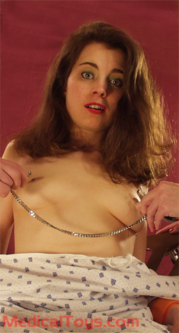 Paitient Paige with Clover Clamps