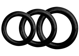 Trio of C-B- Rings