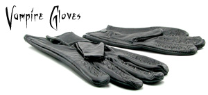 Vampire Leather Gloves