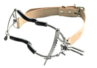Whitehead Mouth agag with Teeth Guard-Tan Straps
