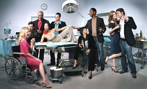 Grey's Anatomy -day at the office