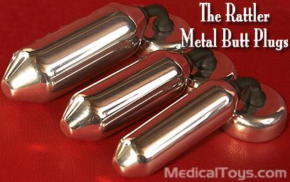 big dcks metal anal plug